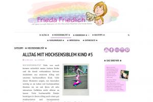 Blog über hochsensible Kinder
